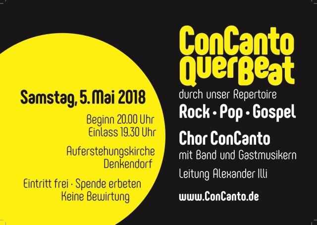 Konzert des Pfadichors ConCanto